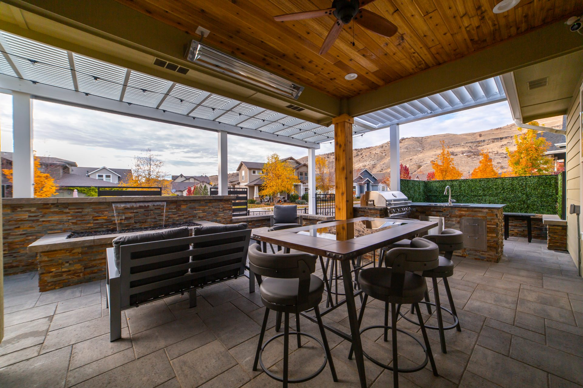 Outdoor Kitchens Outside Patio Kitchen Boise Remodeling